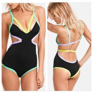 Victoria's Secret Beach Sexy Neon Monokini